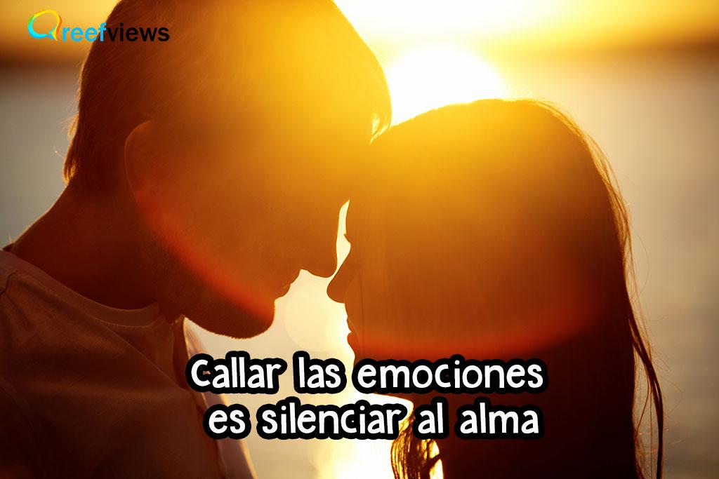 Callar las emociones o decirle que le quiero
