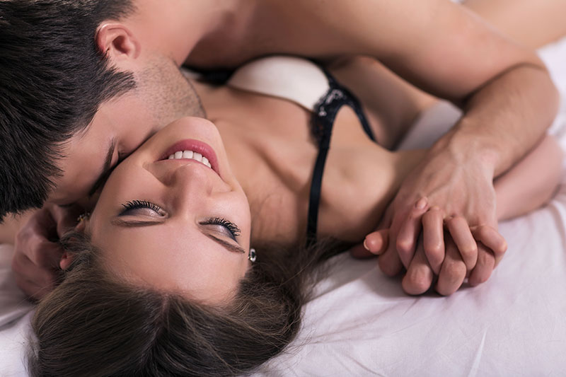Más felicidad, ¿El sexo?
